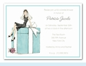 Bride on Box Invitation