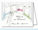 Bridesmaids Note Cards