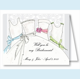 Bridesmaids Note Cards - click to enlarge