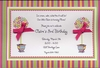 Bright Topiaries Invitation