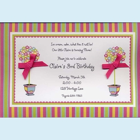 Bright Topiaries Invitation - click to enlarge