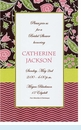Brown & Coral Floral ZigZag Invitation