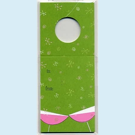 Bubbles & Sparkles Wine Tag - click to enlarge