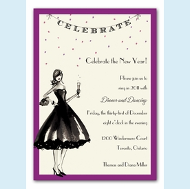 Celebrate in Style Invitation - click to enlarge