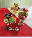 Ceramic Candy Bowl & Spoon