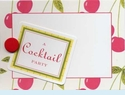 Cherries Cocktail Party Invitation