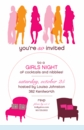 Chicks and Chairs Invitation