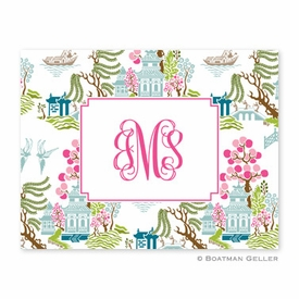 Chinoiserie Spring Folded Notes (set/25) - click to enlarge