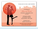 City Expecting Couple Invitation