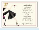 Cocktail Girl Invitation - Blonde