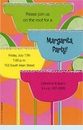 Colorita Margarita Invitation