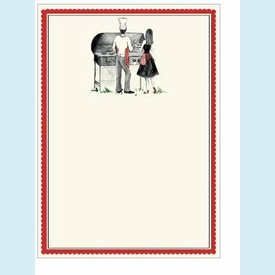 Cook Out Couple Invitation - click to enlarge