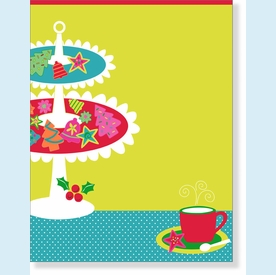 Cookies Galore Laser Paper Invitation - click to enlarge