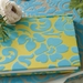 Coramandel Turquoise Flocked Journal - click to enlarge