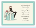 Couple on Box Invitation