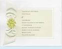Cream Bouquet Invitation