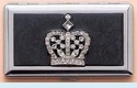 Black Crown ID Case