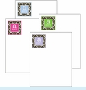 Damask Cute Collections Notepad Set