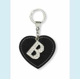 """Dazzle Initial """"B"""" Key Chain - click to enlarge"""