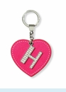 "Dazzle Initial ""H"" Key Chain"