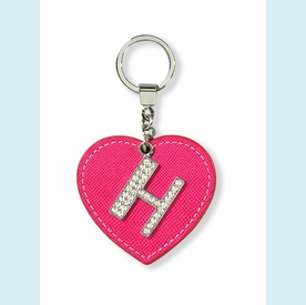 """Dazzle Initial """"H"""" Key Chain - click to enlarge"""