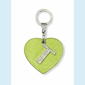 """Dazzle Initial """"T"""" Key Chain - click to enlarge"""