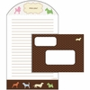 Dogs Glitter Fold & Seal Notes