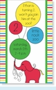 Elephant & Balloons Invitation