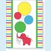 Elephants & Balloons Notes - click to enlarge