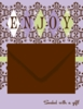 Enjoy! Gift Card Mailer