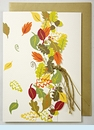 Fall Leaves With Acorns Invitation
