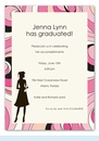 Fashionable Grad Invitation