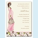 Fashionable Mom Invitation - Pink - click to enlarge