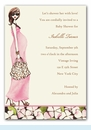 Fashionable Mom Invitation - Pink