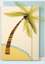 Feather Palm Tree Invitation