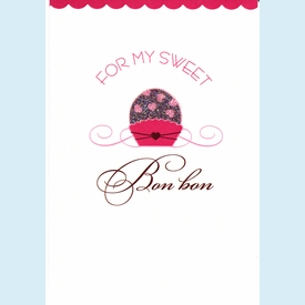 For My Bon Bon Card - click to enlarge