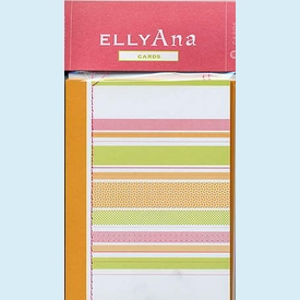 Fresh Stripe Sewn Notes - click to enlarge