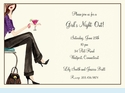 Girls' Night Out Invitation