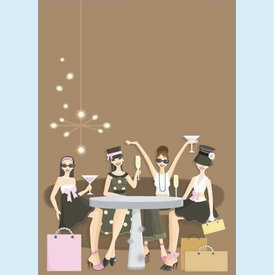 Girls Night Out Invitation - click to enlarge