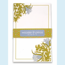 Golden Periwinkle Botanical Cards - click to enlarge