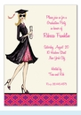 Gorgeous Grad Invitation - Blonde
