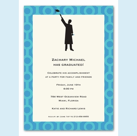 Grad Guy Invitation - click to enlarge