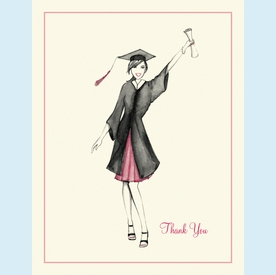 Graduation Celebration Thank You Notes - click to enlarge