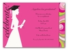 Graduation Silhouette Invitation