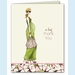 Green Mom Thank You Notes - Blonde - click to enlarge