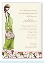 Green Momma Invitation
