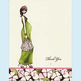 Green Momma Thank You Notes - click to enlarge