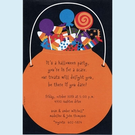 Halloween Loot Invitation - click to enlarge