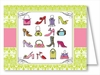 Handbags & High Heels Note Cards