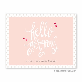 Hello Gorgeous Folded Notes (set/25) - click to enlarge